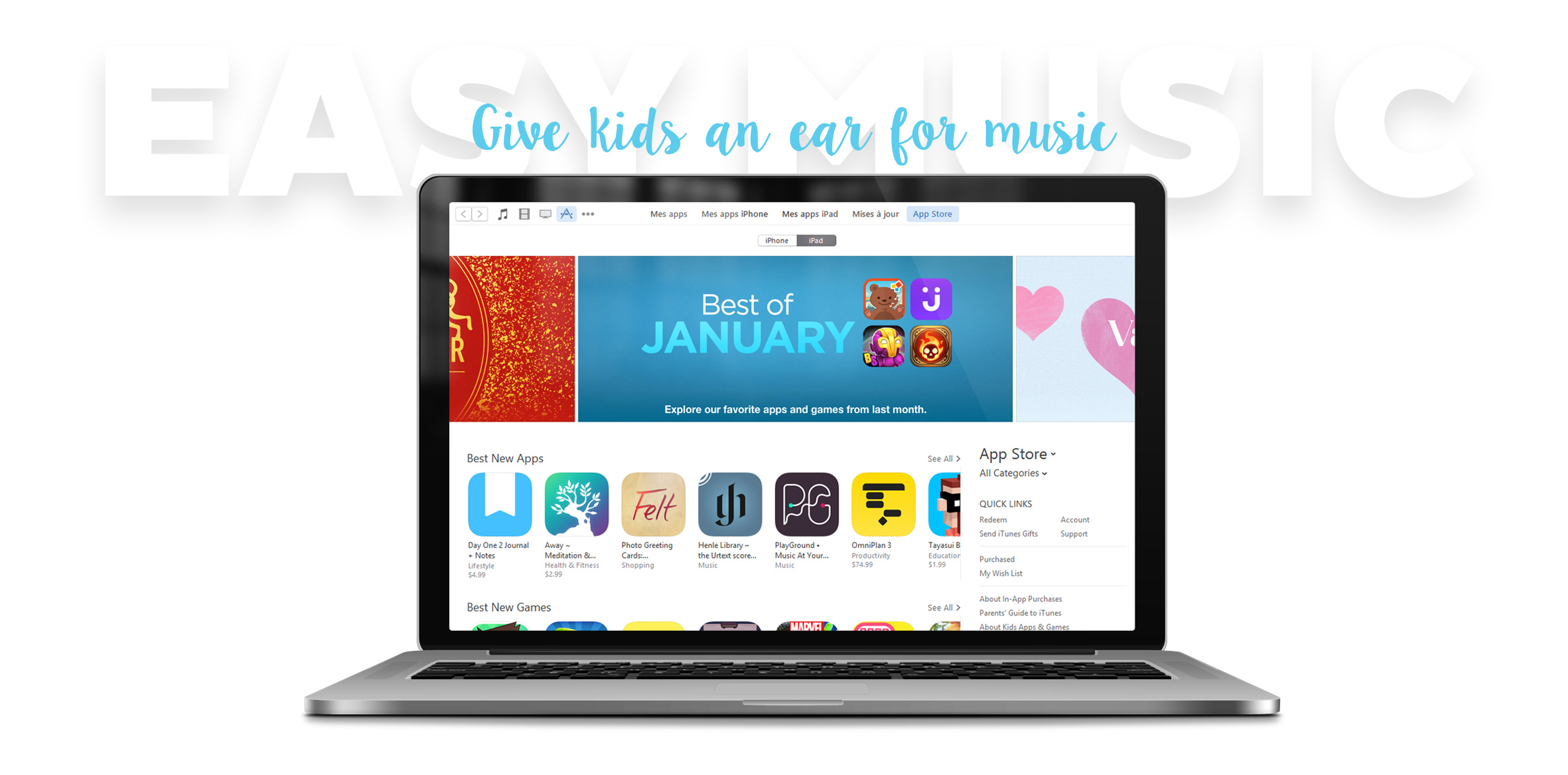 Easy Music App Edoki Millimade iTunes awards