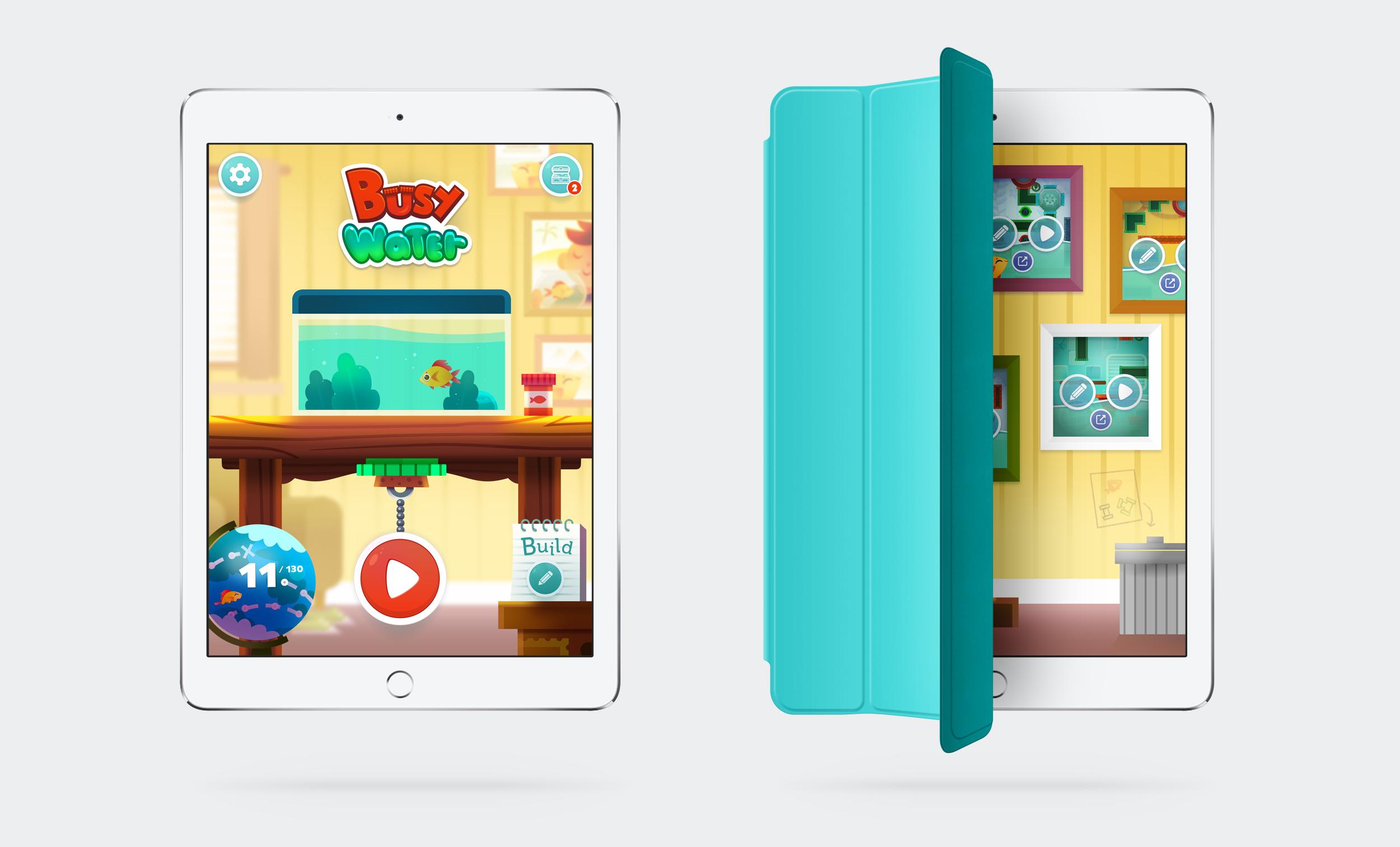 Busy Water app ipad
