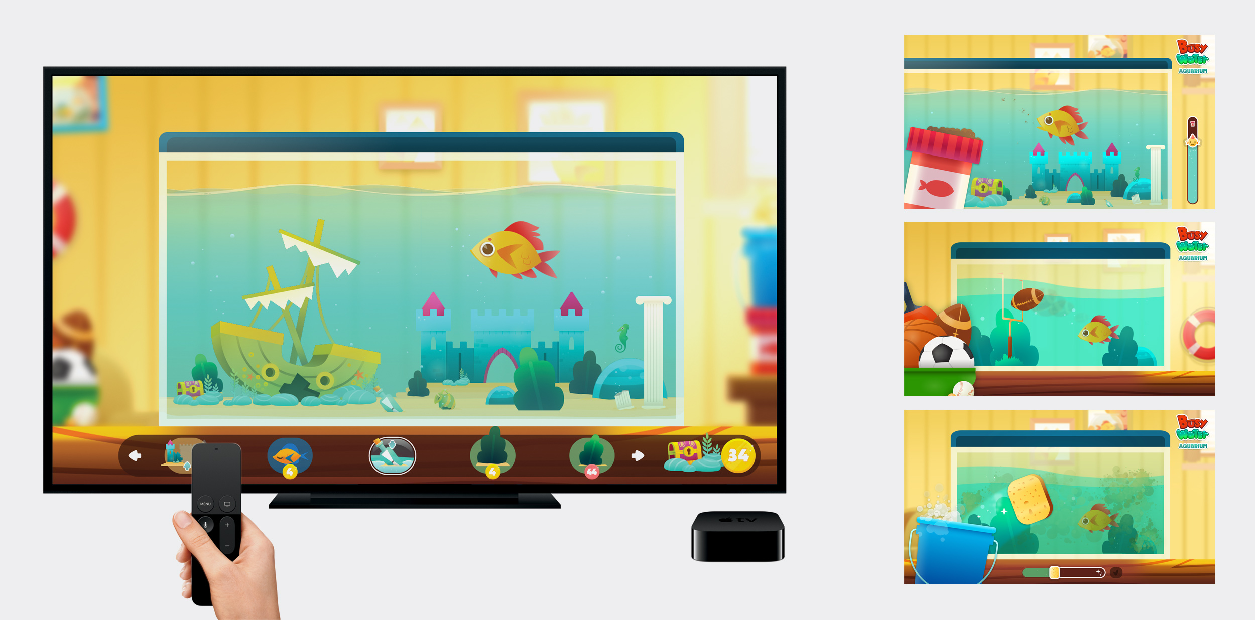 Millimade Busy Water App TV