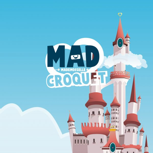 Milimade Mad Croquet - Video games illustration